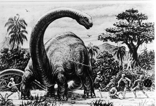 Dinosaur「Illustration For Harryhausen Film」:写真・画像(6)[壁紙.com]