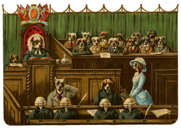 Jury - Entertainment「At The 'Dog Court'」:写真・画像(14)[壁紙.com]