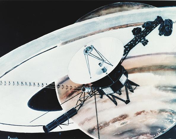 Solar System「Voyager Arrives At Saturn」:写真・画像(11)[壁紙.com]