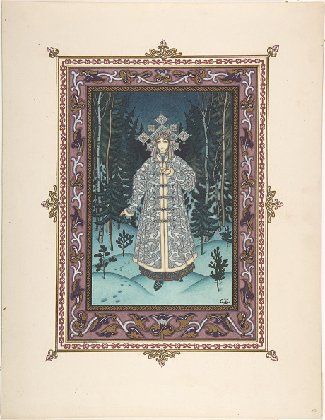 Fairy Tale「Illustration For The Fairy Tale Snegurochka」:写真・画像(7)[壁紙.com]