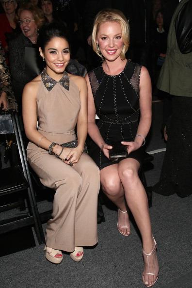 ヴァネッサ・ハジェンズ「TRESemme At Jenny Packham - Front Row - Fall 2013 Mercedes-Benz Fashion Week」:写真・画像(16)[壁紙.com]