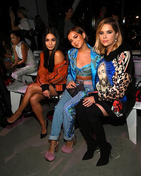 ヴァネッサ・ハジェンズ「Jeremy Scott - Front Row - September 2017 - New York Fashion Week: The Shows」:写真・画像(2)[壁紙.com]
