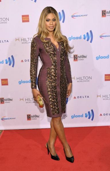 Embellished Dress「25th Annual GLAAD Media Awards In New York - Red Carpet」:写真・画像(15)[壁紙.com]