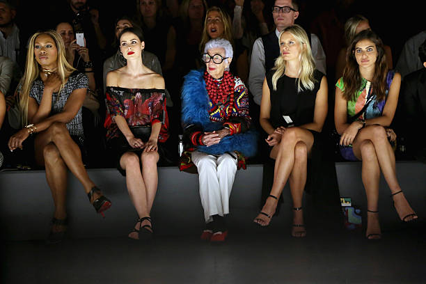 Desigual - Front Row - Spring 2016 New York Fashion Week: The Shows:ニュース(壁紙.com)