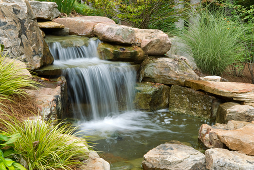 Waterfall「Backyard Waterfall」:スマホ壁紙(16)