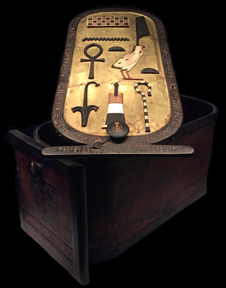 Painted Image「Cartouche Shaped Box From The Tutankhamun Tomb」:写真・画像(10)[壁紙.com]