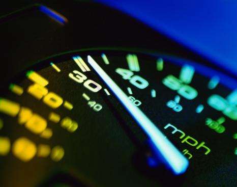 Gel Effect Lighting「Automotive speedometer, close up (brightly lit)」:スマホ壁紙(6)