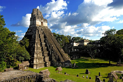 Religion「Great Jaguar temple, Tikal」:スマホ壁紙(6)