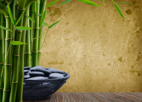 Bamboo - Material「Massage Stones」:スマホ壁紙(9)