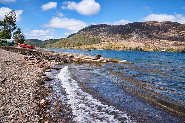 Looking across Loch Carron at South Strome,:スマホ壁紙(壁紙.com)