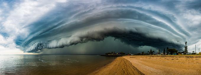 Thunderstorm「Epic super cell storm cloud」:スマホ壁紙(15)