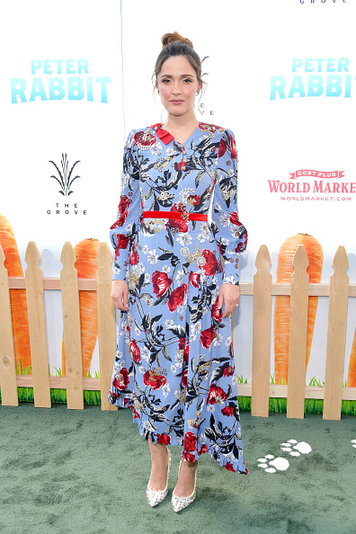 "Rose Byrne「Premiere Of Columbia Pictures' ""Peter Rabbit"" - Arrivals」:写真・画像(6)[壁紙.com]"