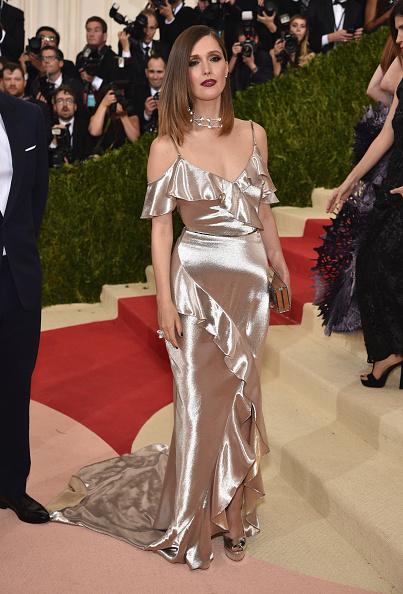 "Rose Byrne「""Manus x Machina: Fashion In An Age Of Technology"" Costume Institute Gala - Arrivals」:写真・画像(8)[壁紙.com]"