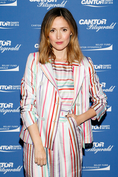Rose Byrne「Annual Charity Day Hosted By Cantor Fitzgerald, BGC and GFI - Cantor Fitzgerald Office - Arrivals」:写真・画像(19)[壁紙.com]