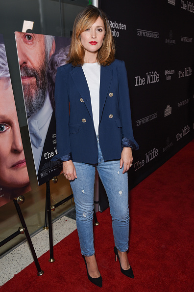 """Rose Byrne「Sony Pictures Classics' Los Angeles Premiere Of """"The Wife"""" - Red Carpet」:写真・画像(13)[壁紙.com]"""