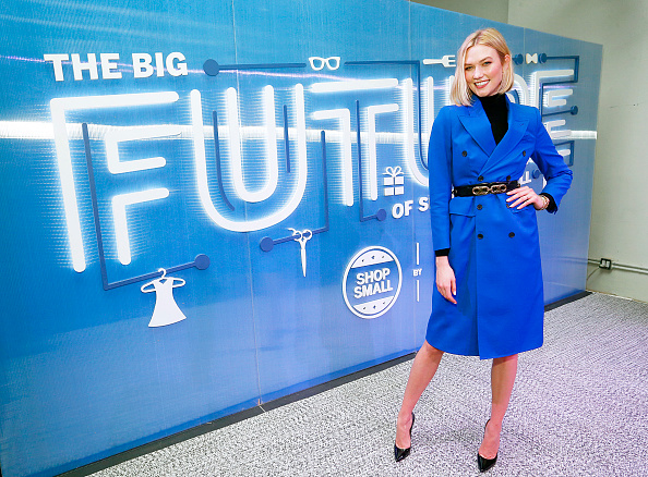 Karlie Kloss「American Express Toasts To 10 Years Of Small Business Saturday With Small Business Owners And Karlie Kloss」:写真・画像(1)[壁紙.com]