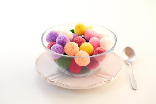 アイスクリーム「Colorful pompon sherbet.」:スマホ壁紙(16)