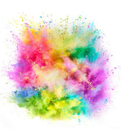 Vitality「Colorful Powder Explosion」:スマホ壁紙(15)