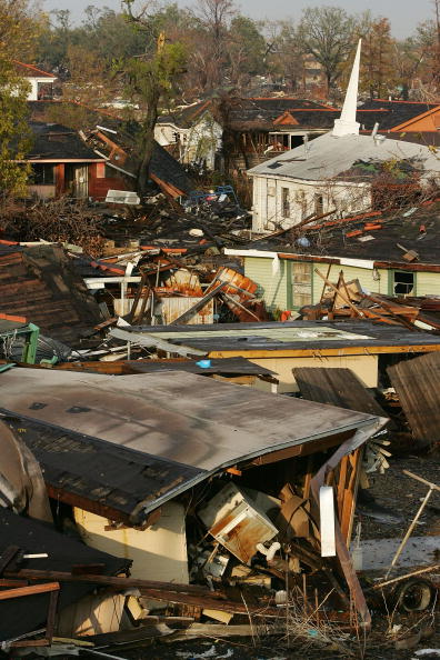 Ninth Ward「A Devastated New Orleans Copes With Holiday Season」:写真・画像(15)[壁紙.com]