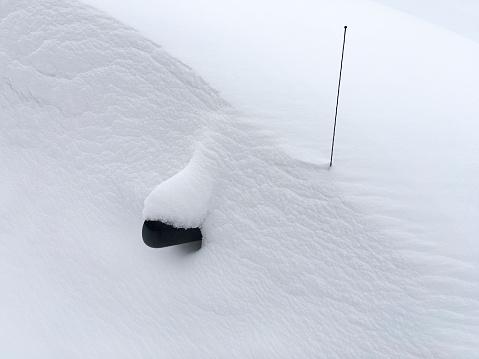 Snowdrift「Car Buried Under the Snow」:スマホ壁紙(6)