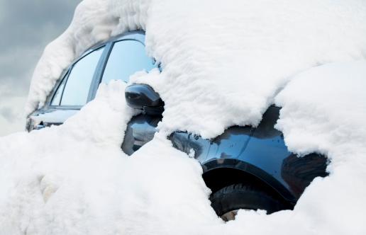 Snowdrift「Car Buried in Snow」:スマホ壁紙(16)