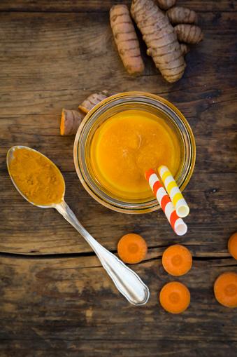 Carrot Juice「Carrot tangerine Smoothie with curcuma」:スマホ壁紙(16)