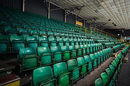 Northeastern England「Empty Rows of Seats in an Ice Rink」:スマホ壁紙(5)