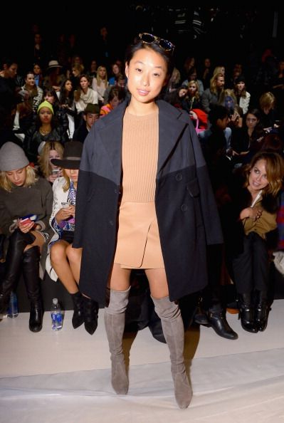 Round Neckline「Nanette Lepore - Front Row - Mercedes-Benz Fashion Week Fall 2014」:写真・画像(11)[壁紙.com]