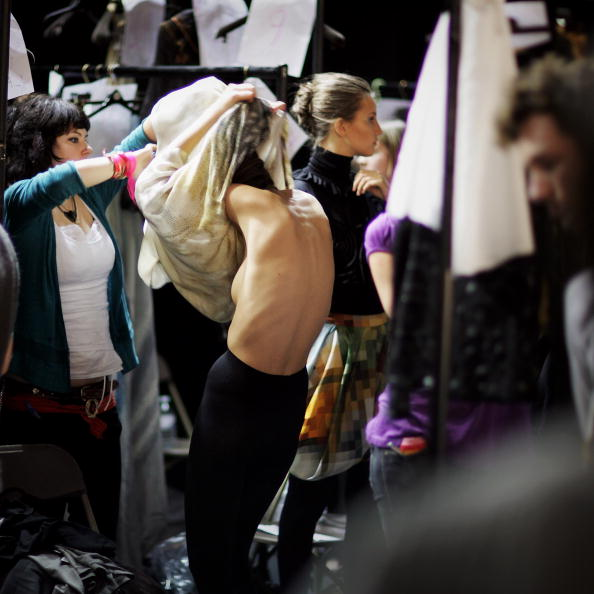 ファッションモデル「Size Zero Models Become The Focus Of London Fashion Week」:写真・画像(14)[壁紙.com]