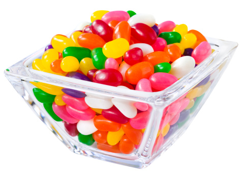 イースター「自動ジェリー豆をキャンディのボウル」:スマホ壁紙(11)