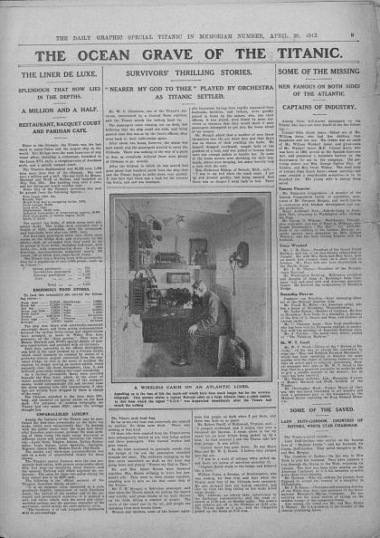 Wireless Technology「The Ocean Grave Of The Titanic」:写真・画像(13)[壁紙.com]