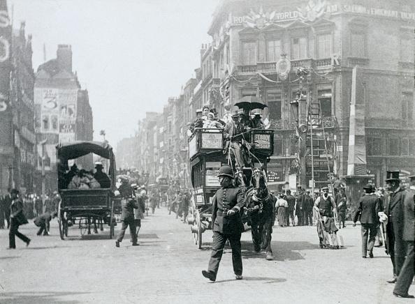 1890-1899「Ludgate Circus London Prepared For Queen Victoria's Diamond Jubilee 1897」:写真・画像(4)[壁紙.com]