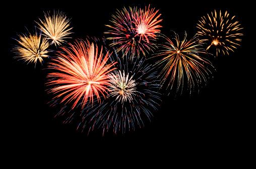 Pattern「A fireworks display against the night sky」:スマホ壁紙(13)