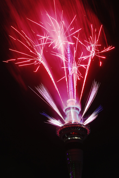 お正月「New Zealanders Celebrate New Year's Eve 2015」:写真・画像(0)[壁紙.com]