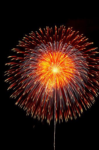 花火「Fireworks display」:スマホ壁紙(19)
