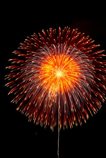 花火「Fireworks display」:スマホ壁紙(3)
