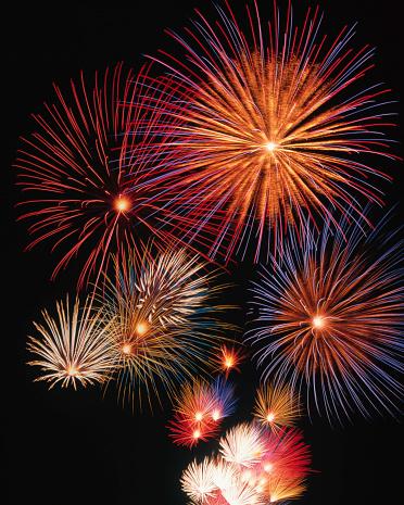 花火「Fireworks Display」:スマホ壁紙(18)
