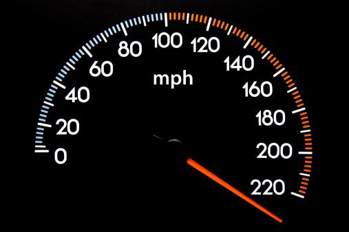Zero「Speedometer (mph)」:スマホ壁紙(15)