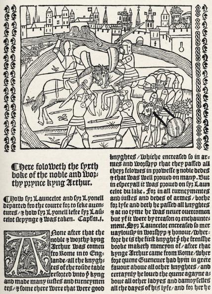 Circa 15th Century「Sir Thomas Malory's 'Morte」:写真・画像(12)[壁紙.com]
