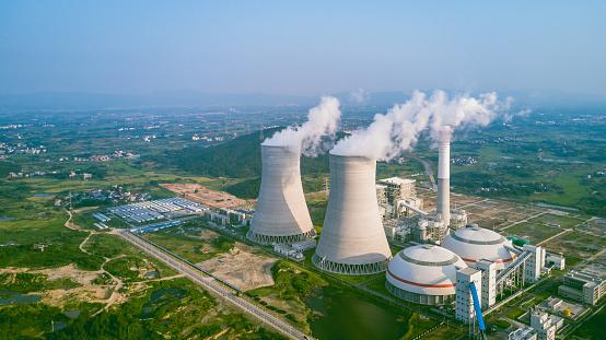 環境「Thermal power plant」:スマホ壁紙(1)