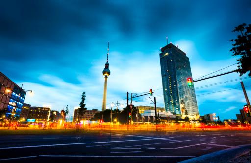 Communications Tower「Alexanderplatz - Berlin」:スマホ壁紙(10)