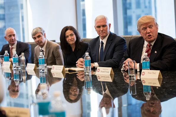 Silicon Valley「Trump Holds Summit With Technology Industry Leaders」:写真・画像(16)[壁紙.com]