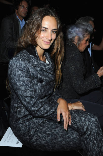 Elie Saab: Front Row - Paris Fashion Week Womenswear Spring / Summer 2013:ニュース(壁紙.com)