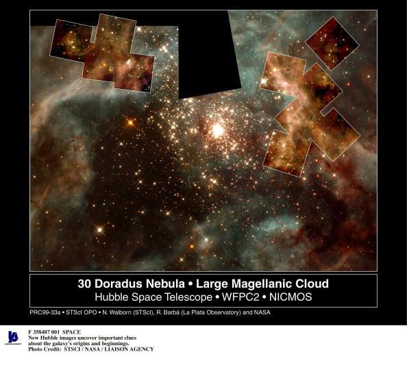 Hubble Space Telescope「Hefty Stars Jpg Hubble Telescope Image F 358487 1 Space New Hubble Images Uncover Important Clue」:写真・画像(6)[壁紙.com]
