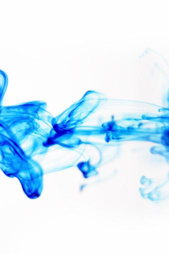 ぬるぬるした「液体の青の抽象的な」:スマホ壁紙(2)