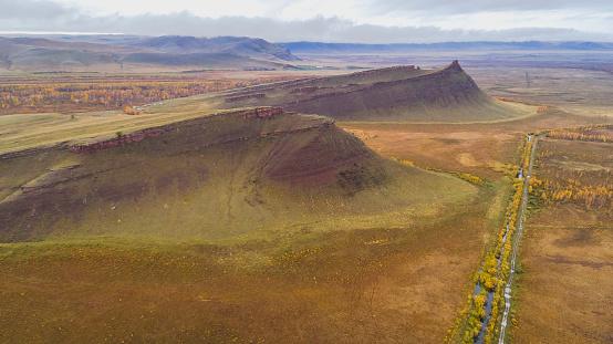 Steppe「Sunduki mountain range, Khakassia republic, Russia」:スマホ壁紙(19)