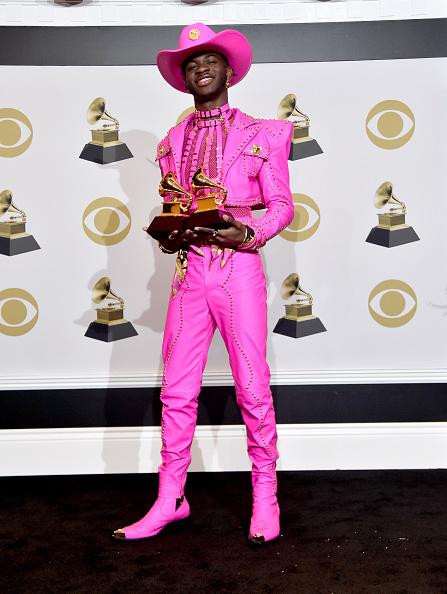 Hot Pink「62nd Annual GRAMMY Awards – Press Room」:写真・画像(8)[壁紙.com]