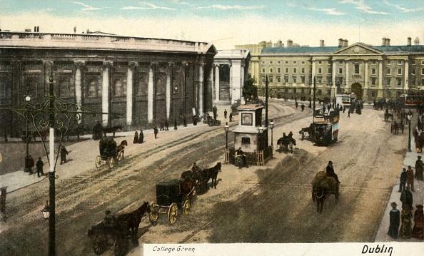 Trinity College - Dublin「College Green - Dublin」:写真・画像(1)[壁紙.com]