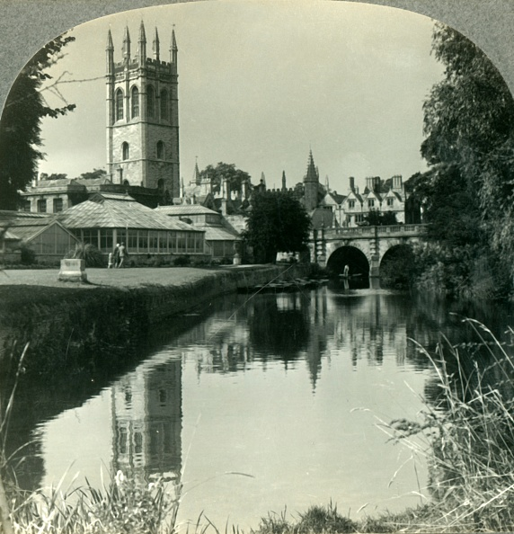Incidental People「Looking Northeast From The River Cherwell To The Tower Of Magdalen College」:写真・画像(6)[壁紙.com]