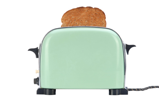Breakfast「Little Green Toaster with Path」:スマホ壁紙(12)